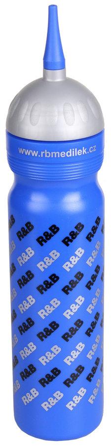 Modrá sportovní láhev na pití R&B - objem 1 l