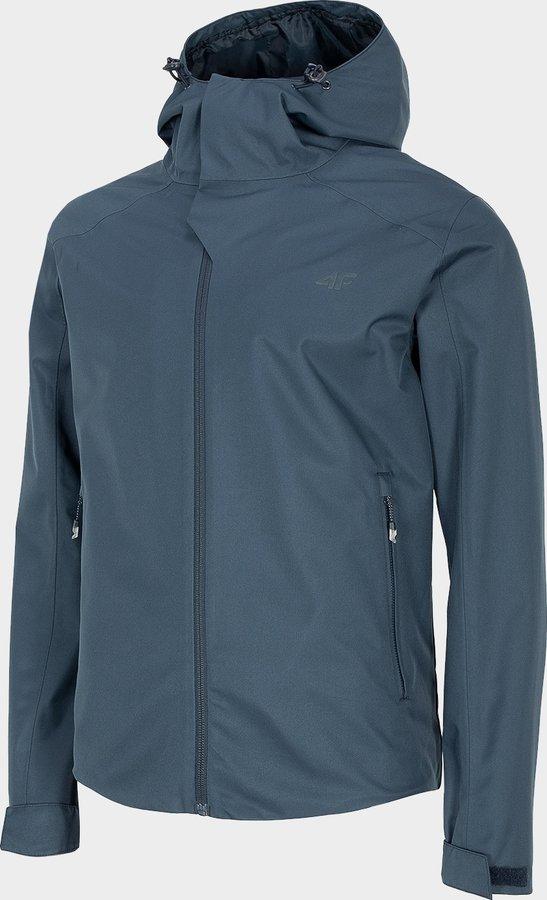 Modrá pánská turistická bunda 4F - velikost S