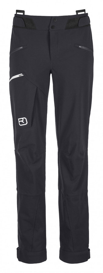 Černé dámské kalhoty na běžky Ortovox