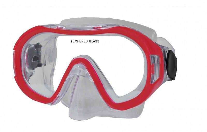 Potápěčská maska - Potápěčská maska CALTER KIDS 168P, červená