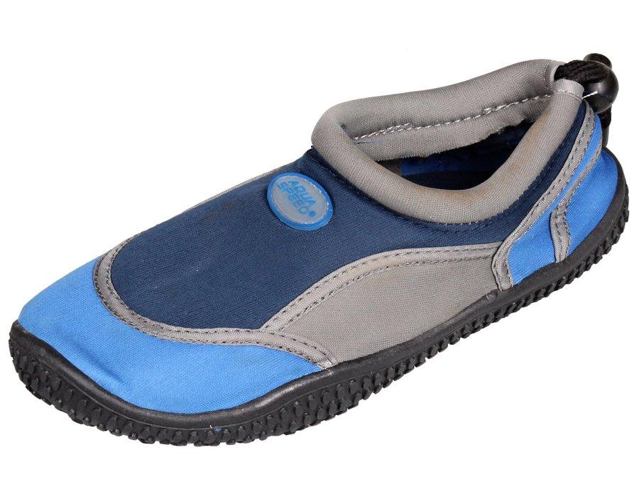 Modré dětské boty do vody 21A, Aqua-Speed - velikost 29 EU