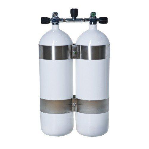 Potápěčská tlaková láhev - Potápěčská láhev TWIN 2x12l/171 Vítkovice