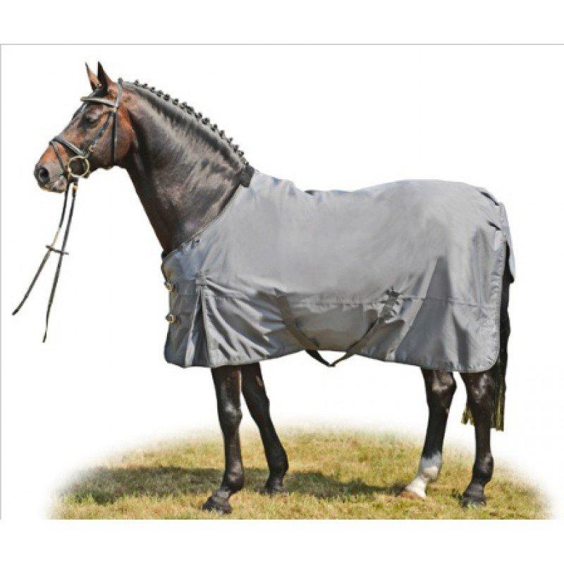 Deka na koně - Lehká deka HKM Professional Barevná varianta: Černá, Velikost dek: 155