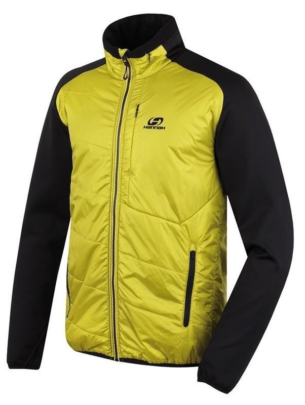 Černo-žlutá pánská lyžařská bunda Hannah