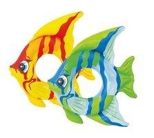 Různobarevný nafukovací kruh Ryba INTEX