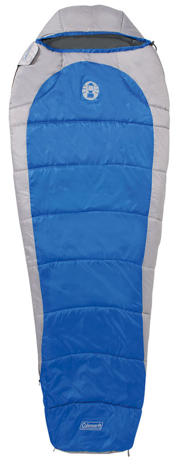 Modro-šedý spací pytel Silverton Comfort 250, Coleman - délka 225 cm