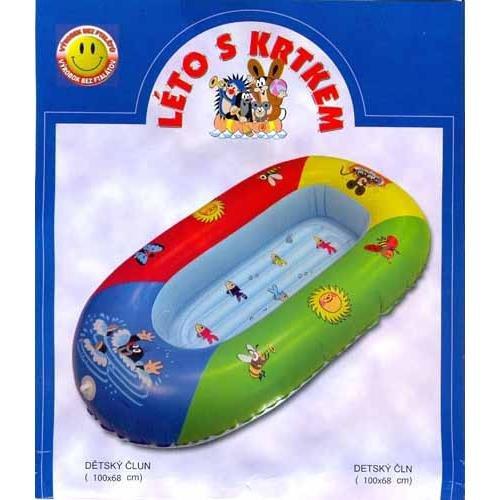 Člun - WIKY - Dětský člun Krtek