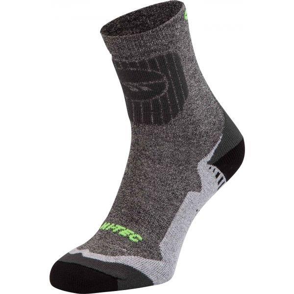 Trekové ponožky - Hi-Tec NIDAR šedá 36-39 - Turistické ponožky