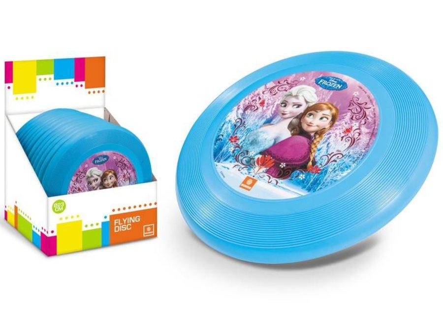 """Modré plastové frisbee """"Frozen"""", Mondo - průměr 23 cm"""