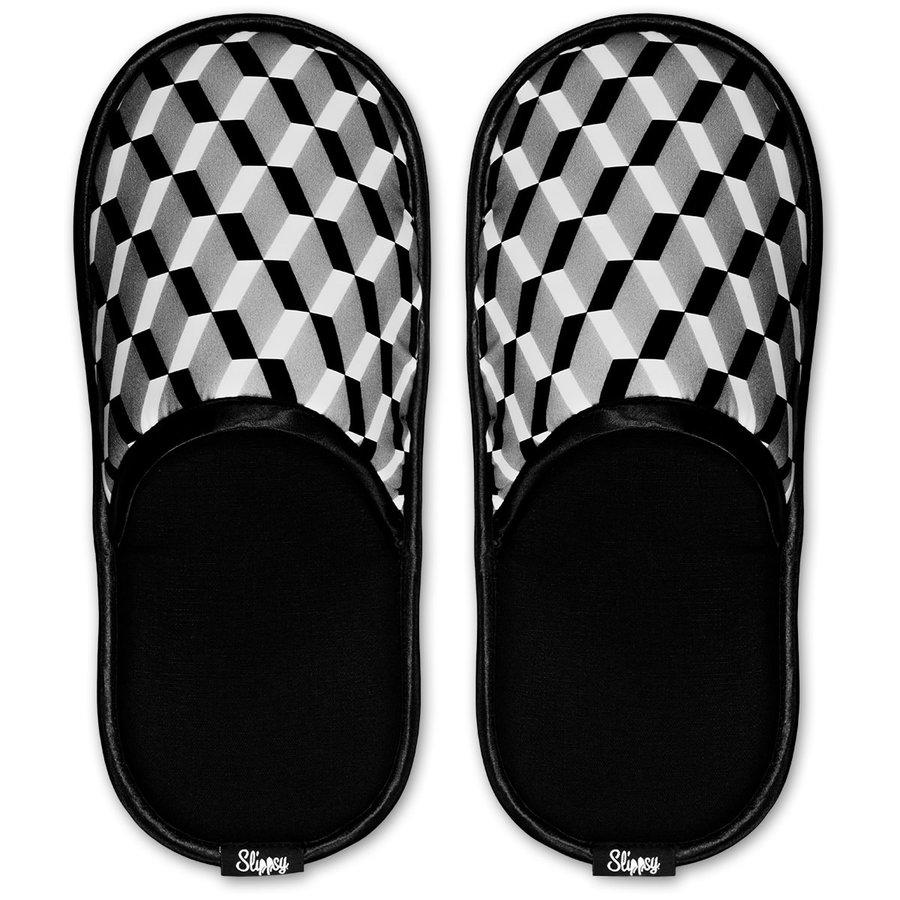 Černé pantofle Slippsy