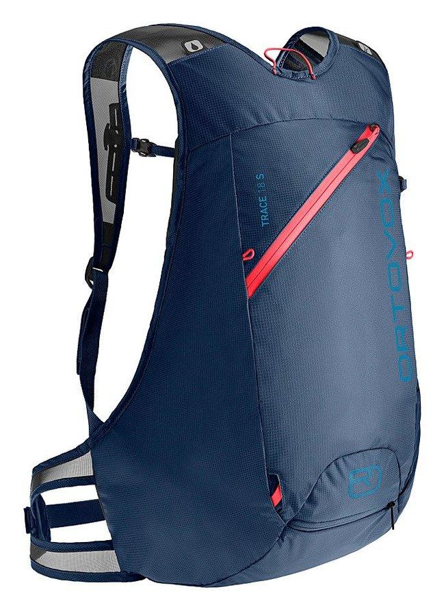 Modrý skialpový batoh Ortovox - objem 18 l
