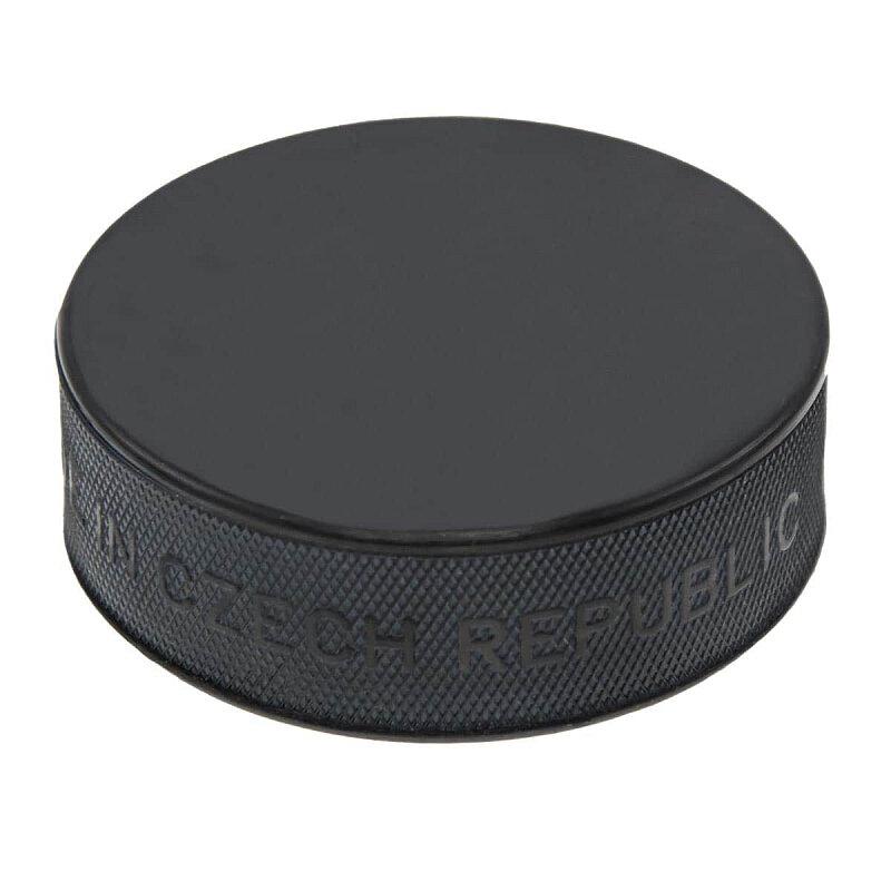 Černý hokejový puk - senior Rulyt - průměr 7,5 cm