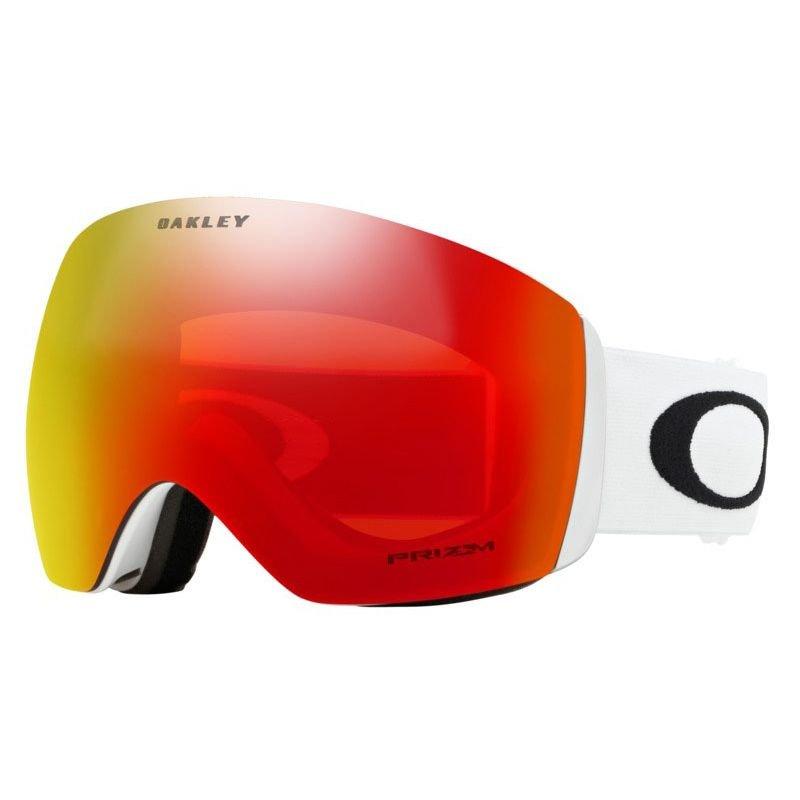 Bílé pánské lyžařské brýle Oakley