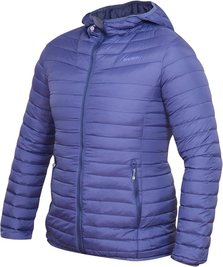 Fialová dámská bunda Husky - velikost XL