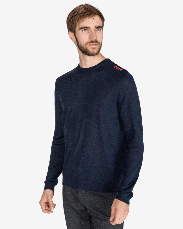 Modrý pánský svetr Hugo Boss - velikost XL