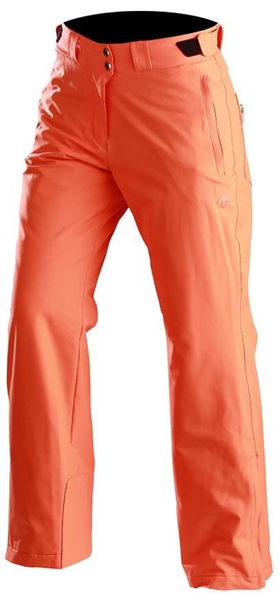 Oranžové dámské lyžařské kalhoty Descente - velikost 36