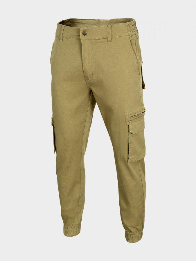 Béžové pánské turistické kalhoty Outhorn