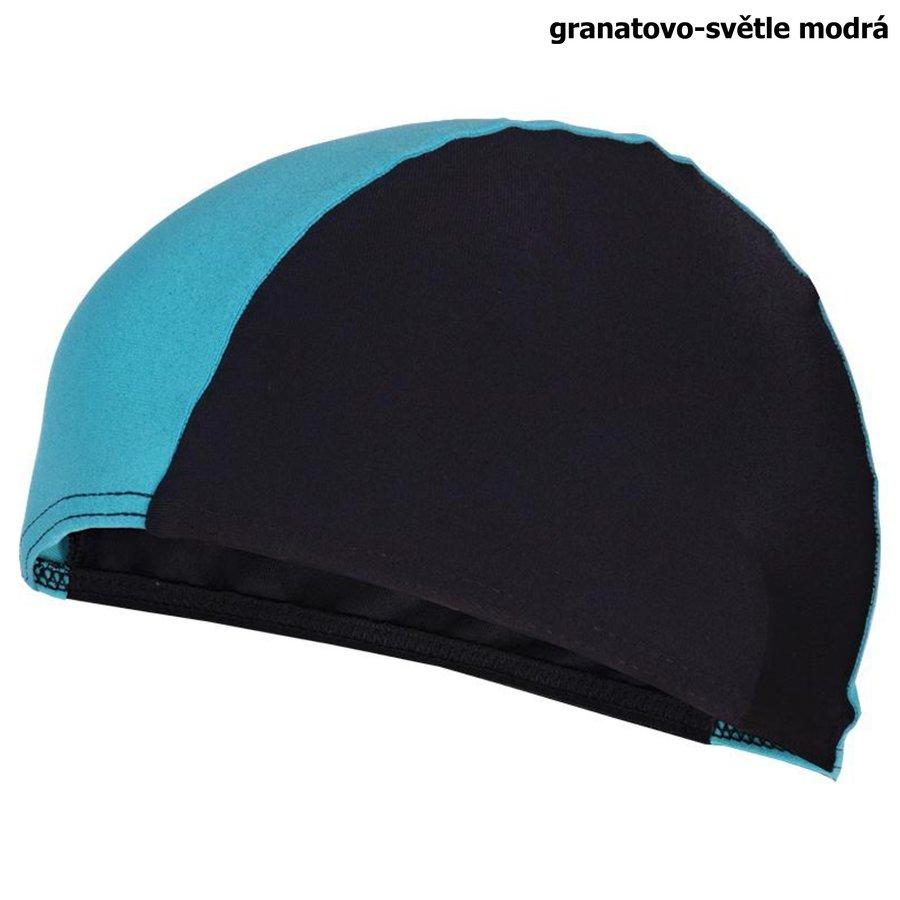 Černá pánská nebo dámská plavecká čepice LYCRAS, Spokey