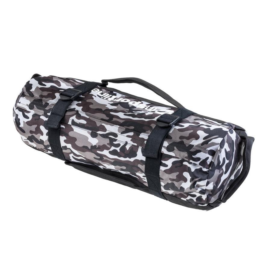 Maskáčový posilovací vak Camobag, inSPORTline - 20 kg