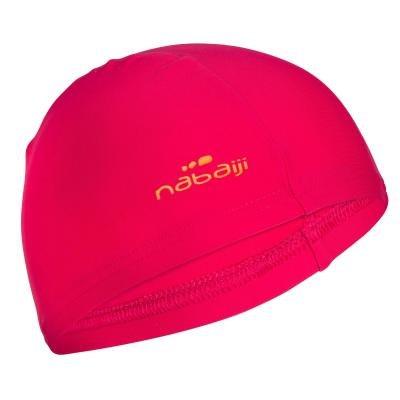 Růžová pánská nebo dámská plavecká čepice Nabaiji