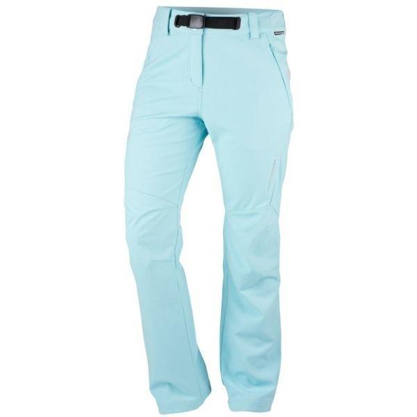 Modré softshellové dámské kalhoty NorthFinder