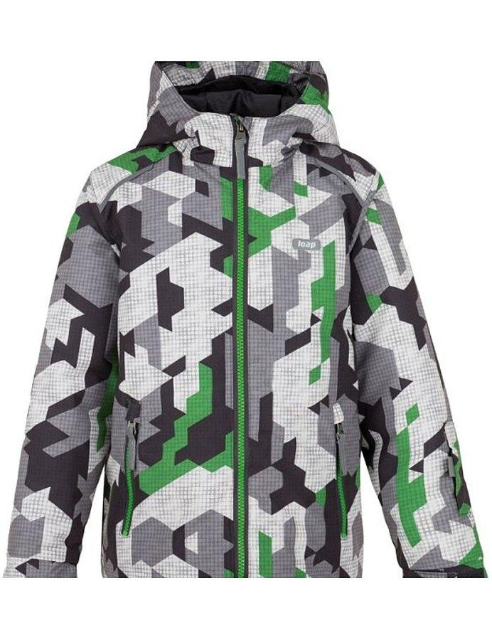 Různobarevná dětská zimní bunda Loap - velikost 112