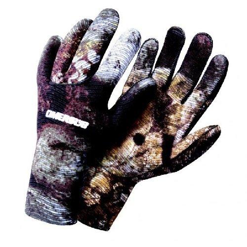 Černé unisex neoprenové rukavice 3D Mimetic, Omer
