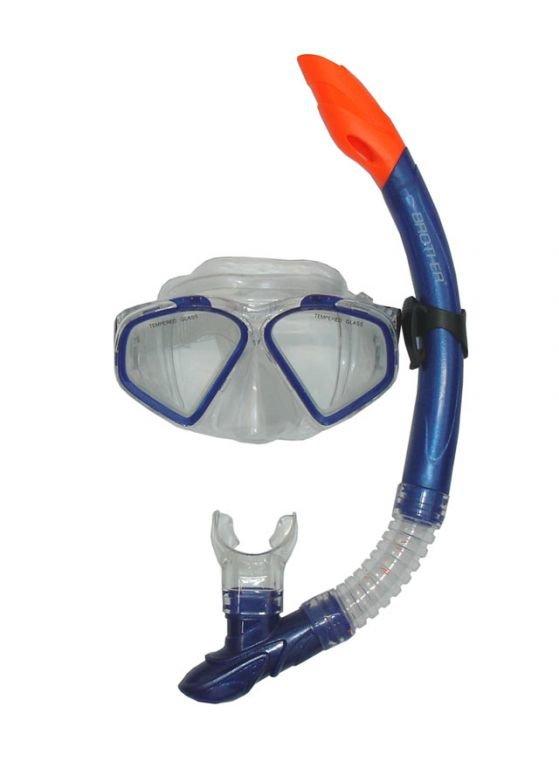 Potápěčská sada - CorbySport 32590 Sada potápěčská - modrá