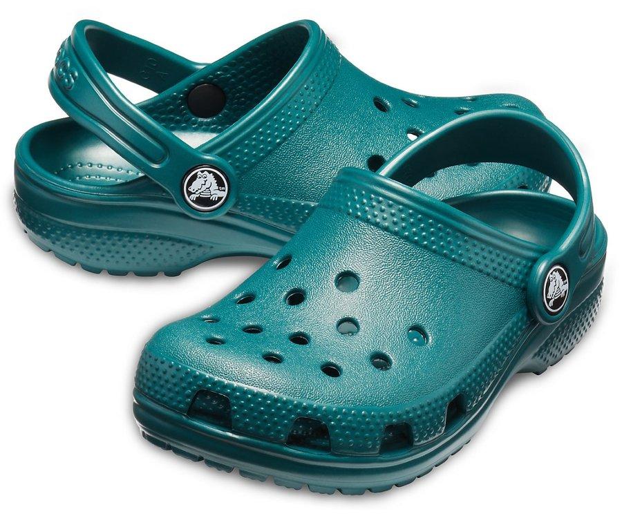 Zelené unisex pantofle Crocs