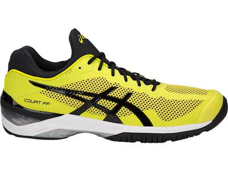 Žlutá pánská tenisová obuv Gel Court FF Sulphur Spring, Asics - velikost 43,5 EU