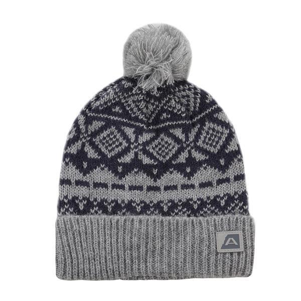 Šedá zimní čepice Alpine Pro - velikost M