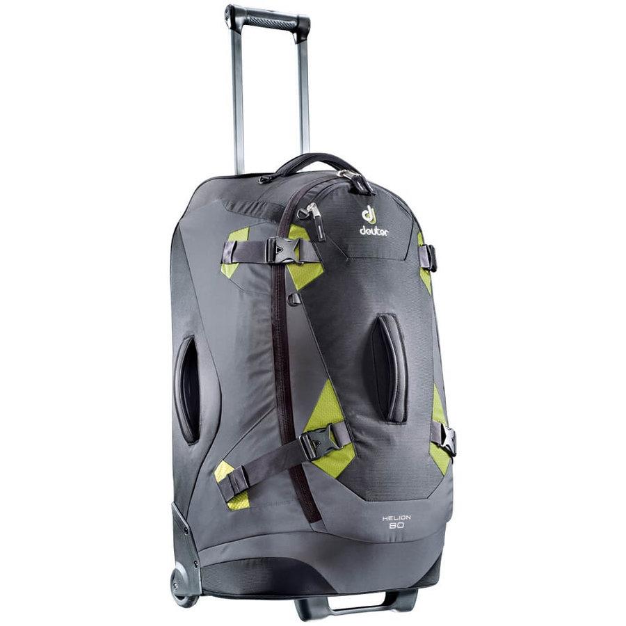 Černo-zelený turistický batoh Helion, Deuter - objem 80 l