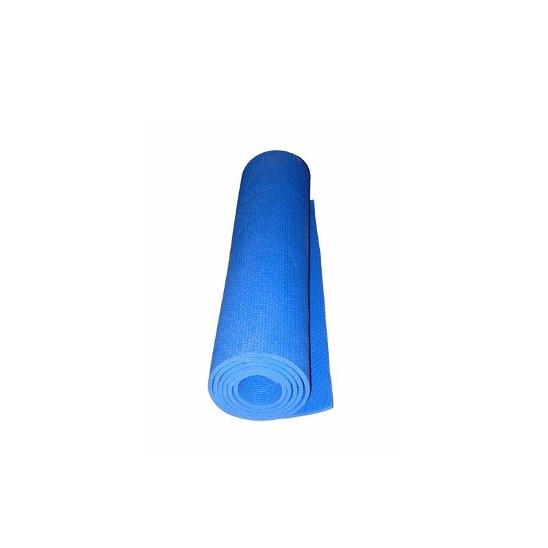 Modrá podložka na cvičení Yoga Matte, Spartan - tloušťka 1,5 cm