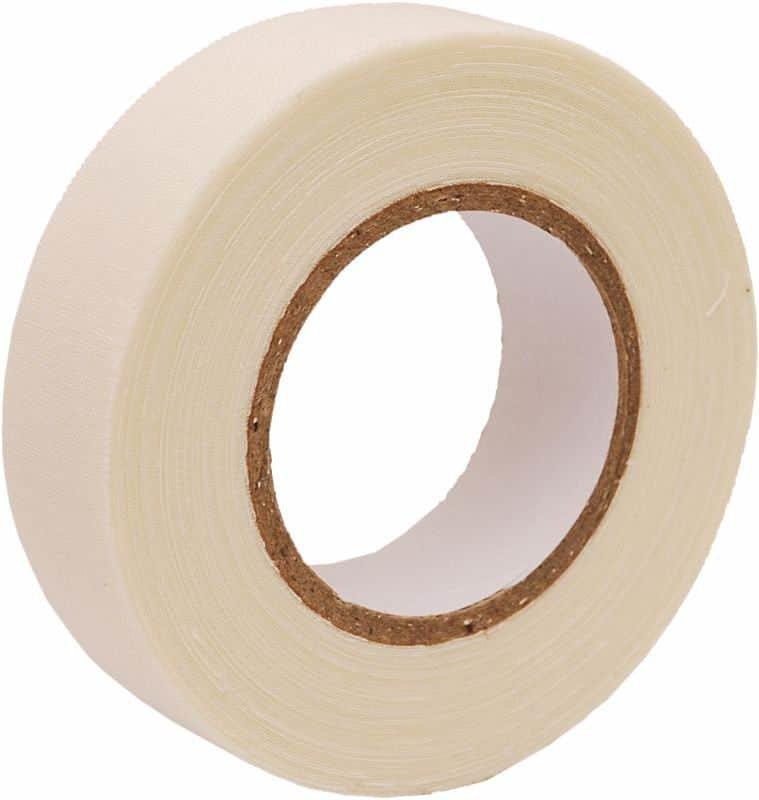 Hokejová páska - Sport páska textilní, 10m x 2cm, bílá