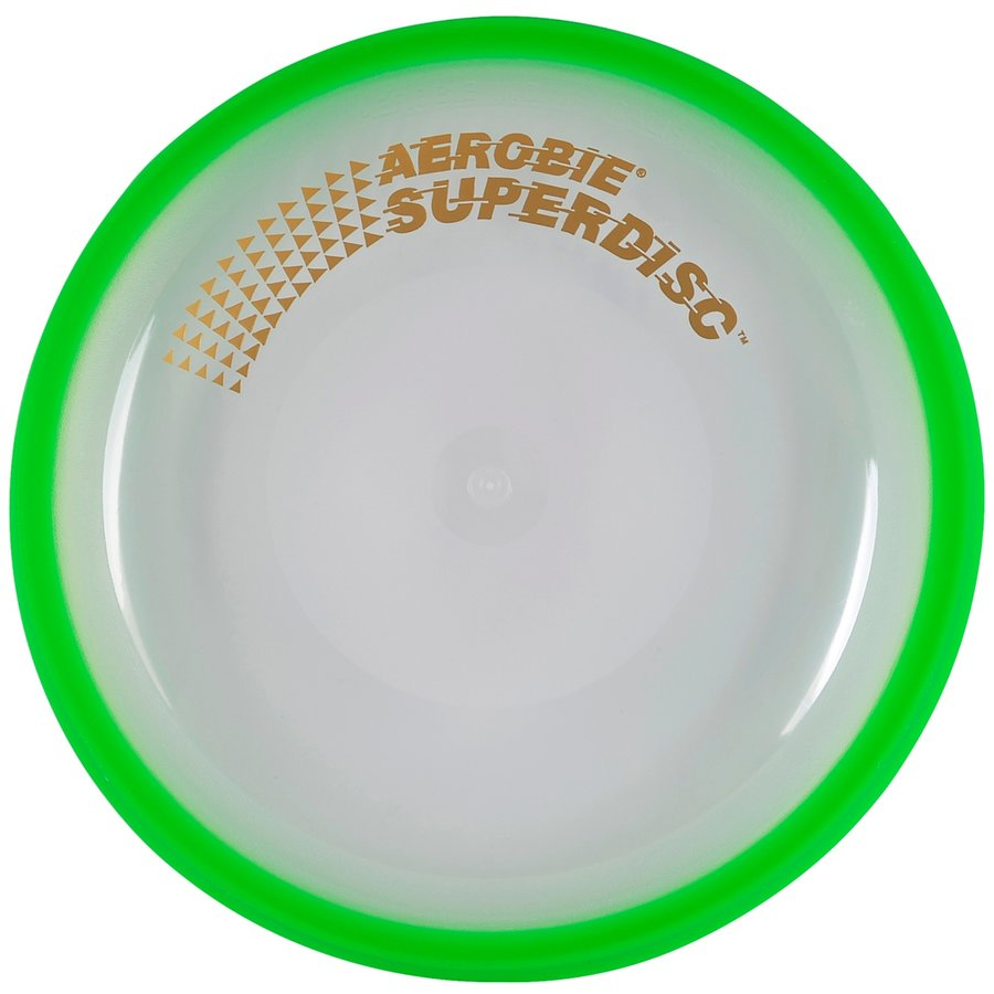 Zelené plastové frisbee Aerobie - průměr 25 cm