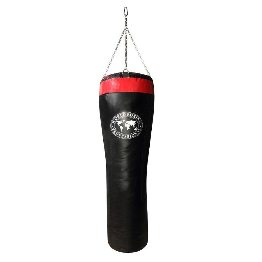 Černo-červený boxovací pytel Shindo - 48 kg