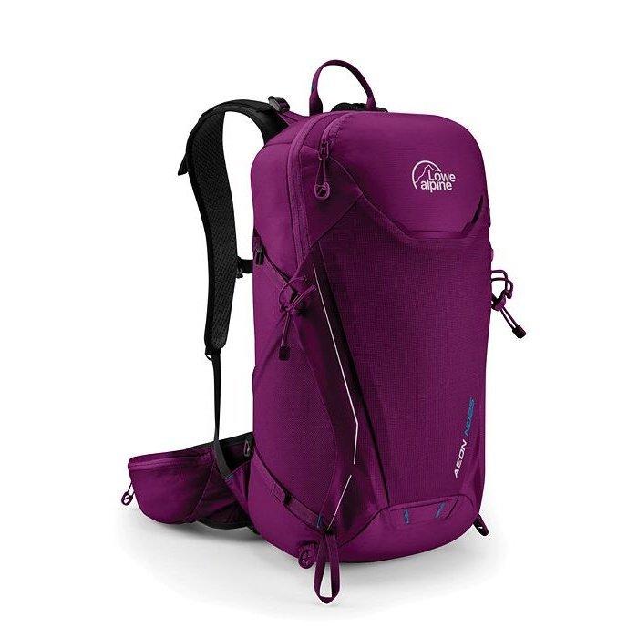 Fialový turistický batoh Lowe Alpine - objem 25 l
