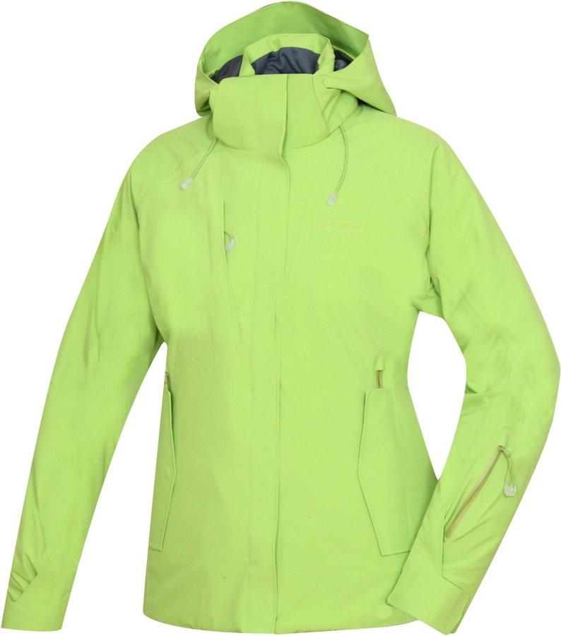 Zelená dámská lyžařská bunda Husky