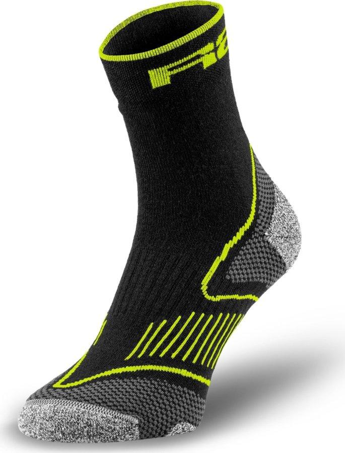 Černé cyklistické ponožky R2