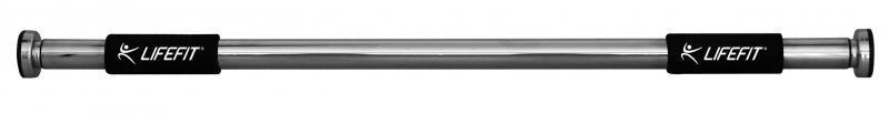 Dveřní hrazda Lifefit - nosnost 100 kg a délka 80-110 cm
