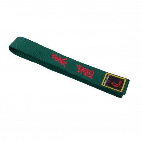 Zelený judo pásek MASUTAZU