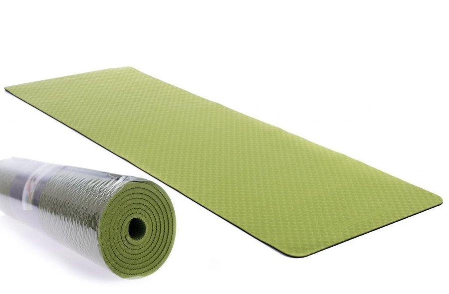 Zelená podložka na cvičení EUPROMED - tloušťka 0,6 cm