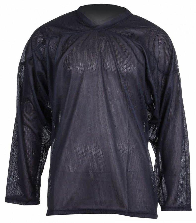 Černý tréninkový hokejový dres Merco - velikost XS