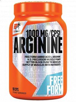 L-Arginin - Extrifit Arginin 1000mg 90 kapslí