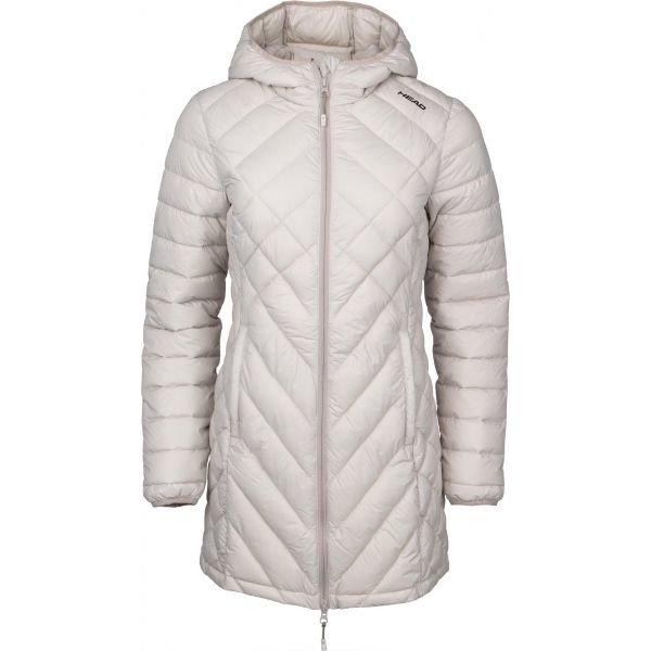 Bílý zimní dámský kabát Head