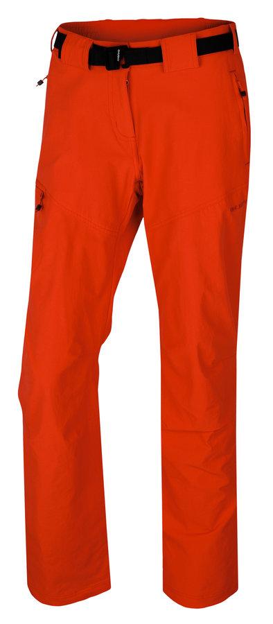 Červené dámské turistické kalhoty Husky
