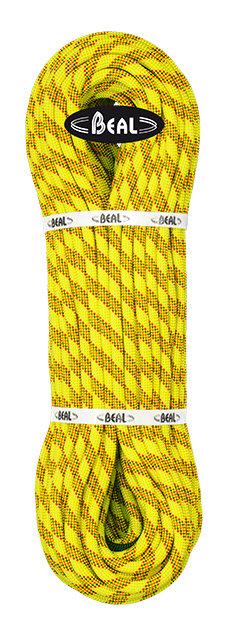 Žluté horolezecké lano Beal - průměr 10,2 mm