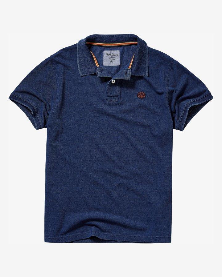 Modré pánské tričko s krátkým rukávem Pepe Jeans - velikost L