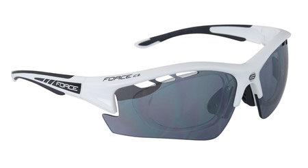 Černé cyklistické brýle RIDE PRO, Force