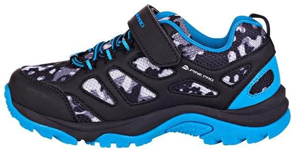 Modré dětské trekové boty Alpine Pro - velikost 28 EU
